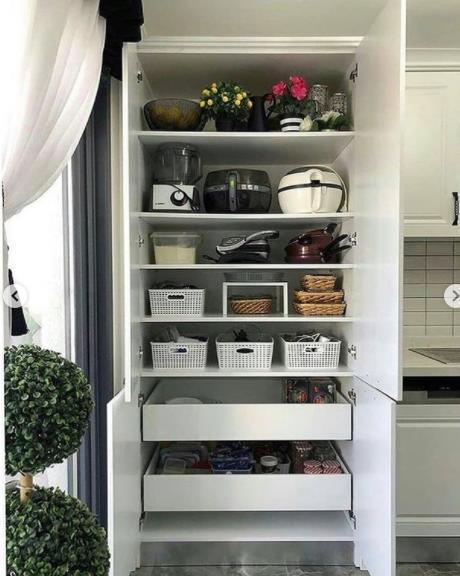 система хранения на кухне фото