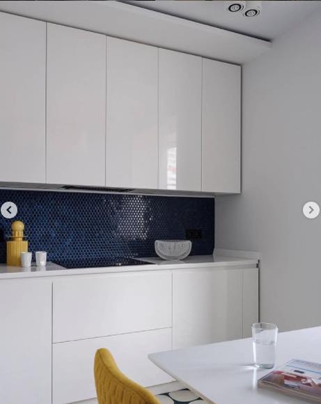 кухня в светлых тонах идеальное решение белого