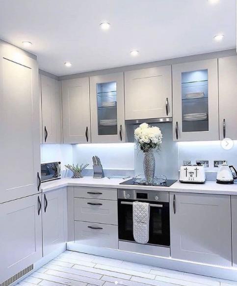 кухня в светлых тонах идеальное решение
