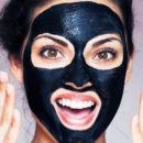 угольная из желатина маска от черных точек