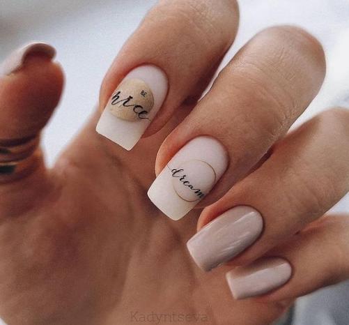 красивый дизайн ногтей 2021-2022 подбока нейл-арта