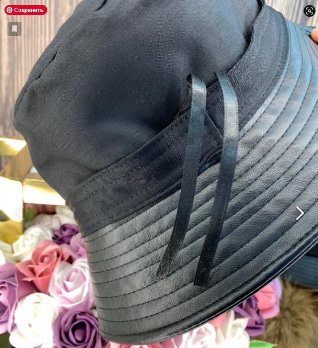 стильная шляпа панама