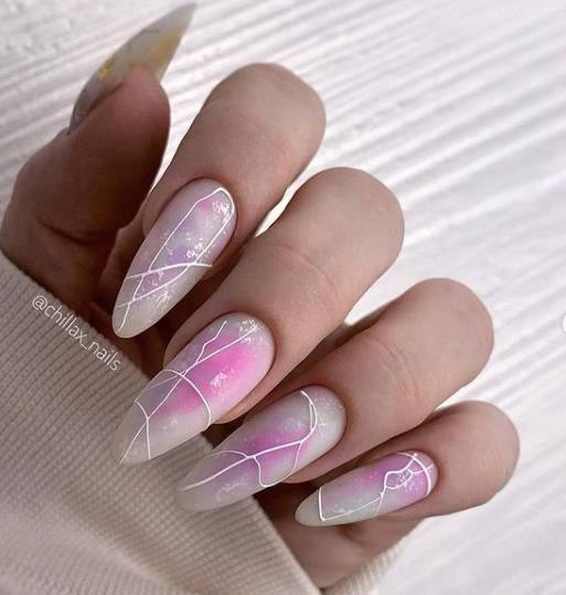 геометрия на ногтях маникюр в стиле арт