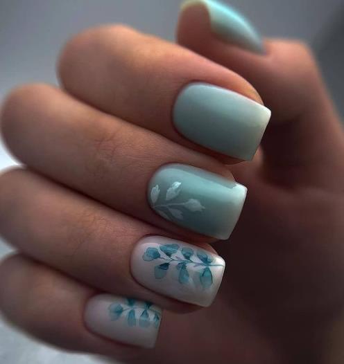 новинки стильного маникюра 2021 идеальное оформление коротких ногтей