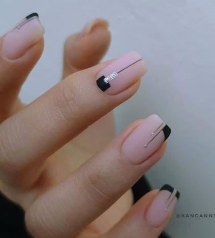 идеи покрытия ногте квадратной и прямоугольной формы