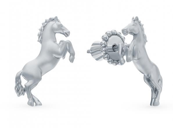 серебряные украшения лошади