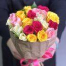 ассортимент свежих цветов