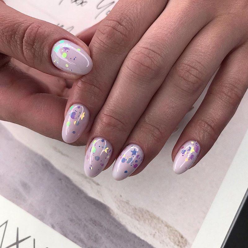 инстаграм модные ногти