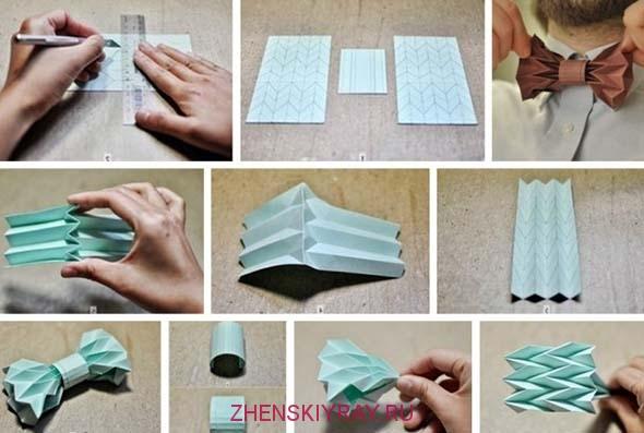Как сделать галстук своими руками фото инструкция 49
