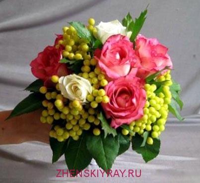 Составление букетов из живых цветов: правила. Букеты из цветов 3
